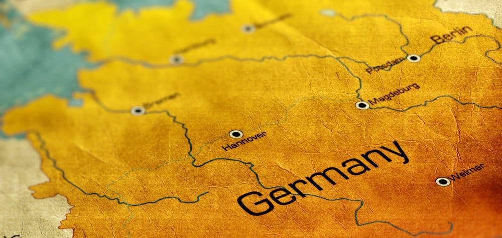 Map-Duitsland