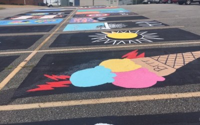 "Senior ""Paint Your Spot"" is Friday"