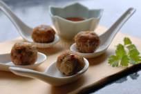 Thai Chicken Meatballs | Gather and Graze