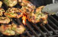 Kaffir Lime BBQ Chicken | Gather and Graze