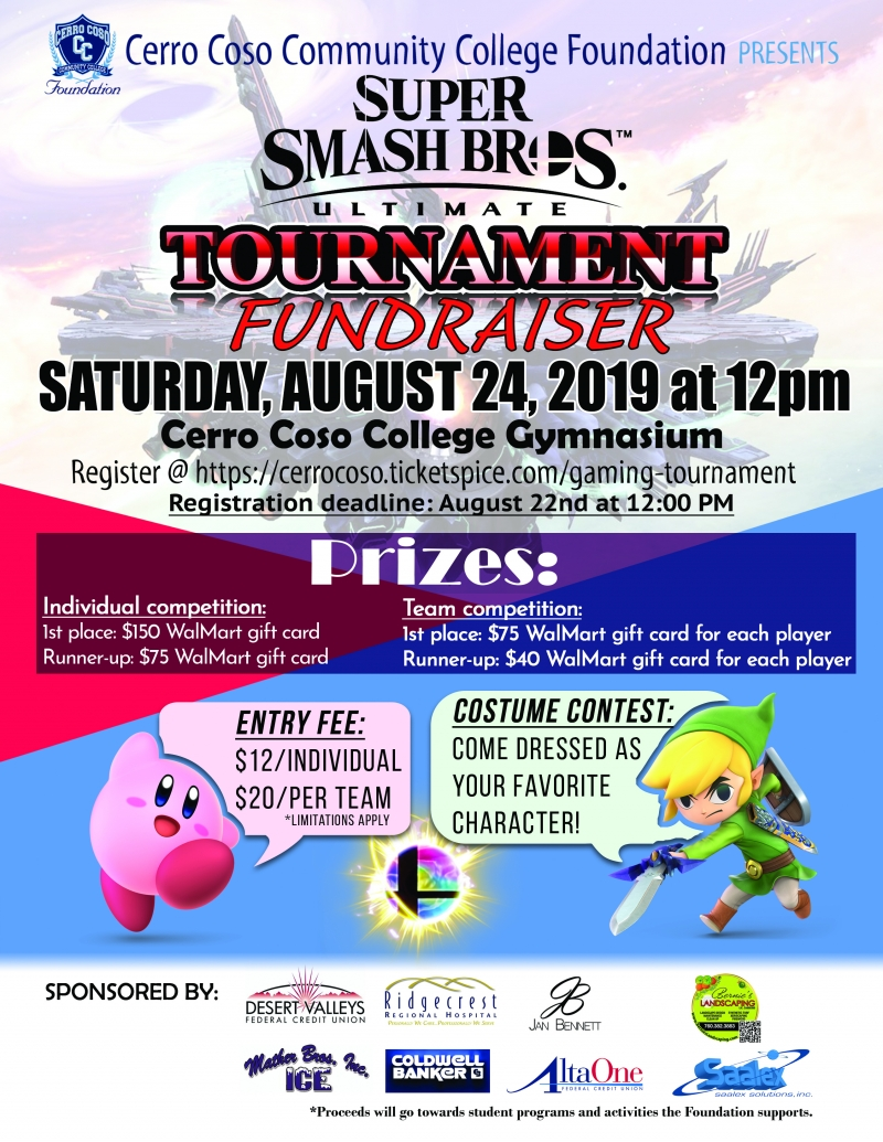 super smash bros gaming tournament