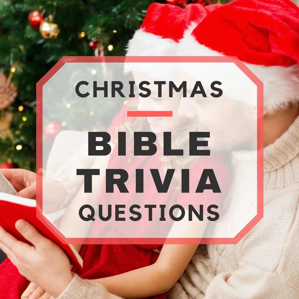 20 Fun Christmas Bible Trivia Questions