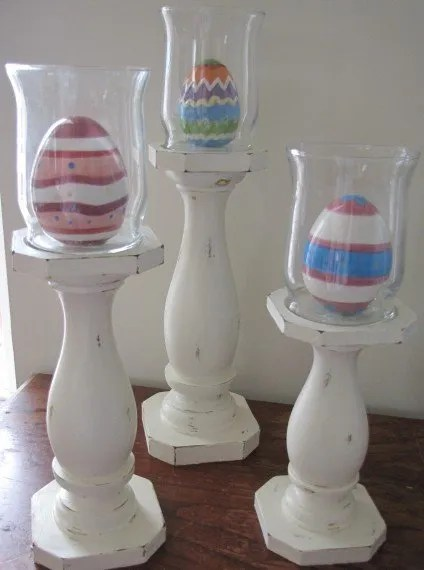 Easter Candlestick Toppers