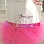 Personalized TuTu Ballet Tote Bag