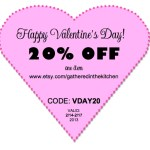 GITK Handmade 20% off Valentine's Day Special