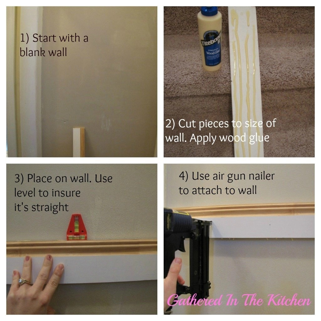 DIY Towel Hook Shelf & Beadboard Wall Tutorial