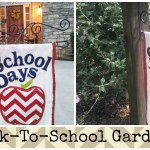 DIY Back-To-School School Days Garden Flag Tutorial