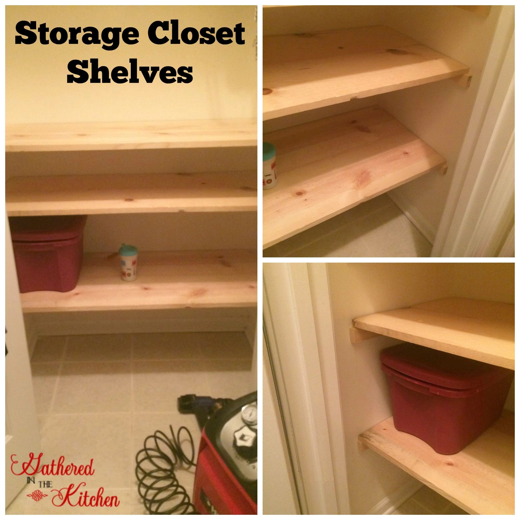 Coat Closet Makeover Gathered In The Kitchen
