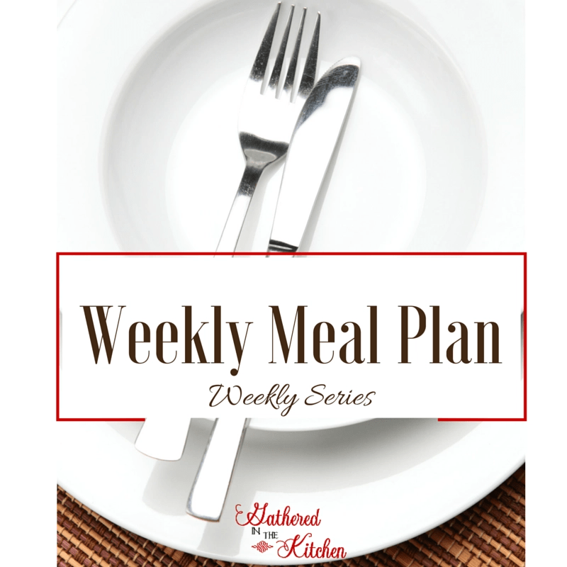 Weekly Meal Plan-weekly series