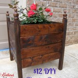 $12 DIY Planter Boxes