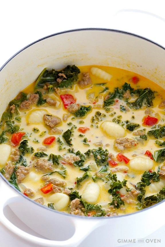 7-Ingredient-Creamy-Gnocchi-Soup-with-Sausage-and-Kale-1