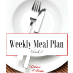 Weekly Meal Plan_ Week 2