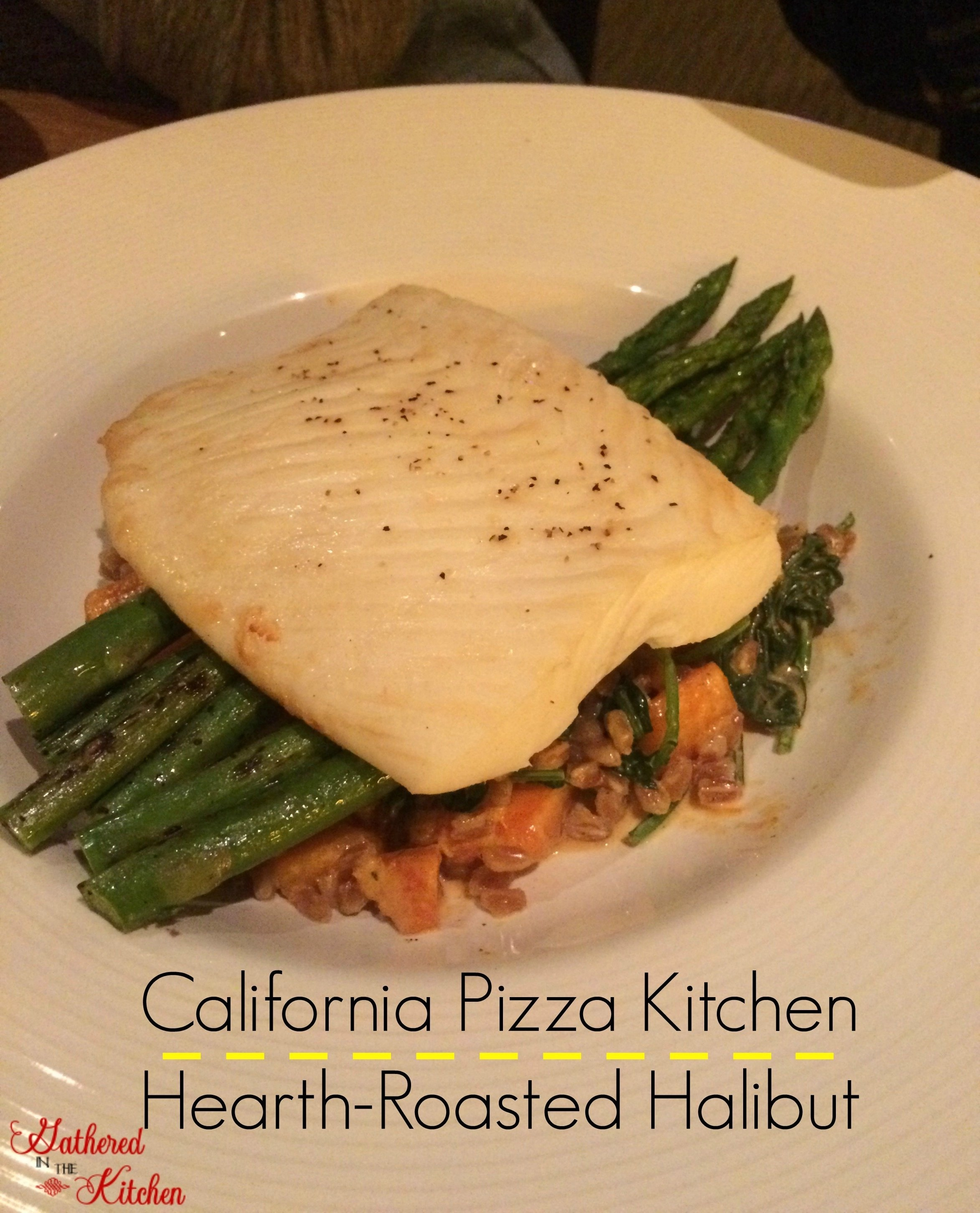california pizza kitchen hearth-roasted halibut