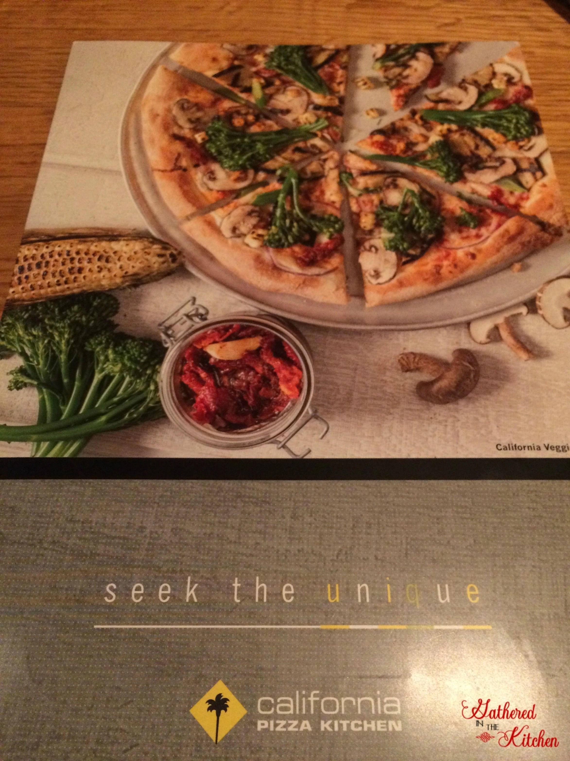 california pizza kitchen menu