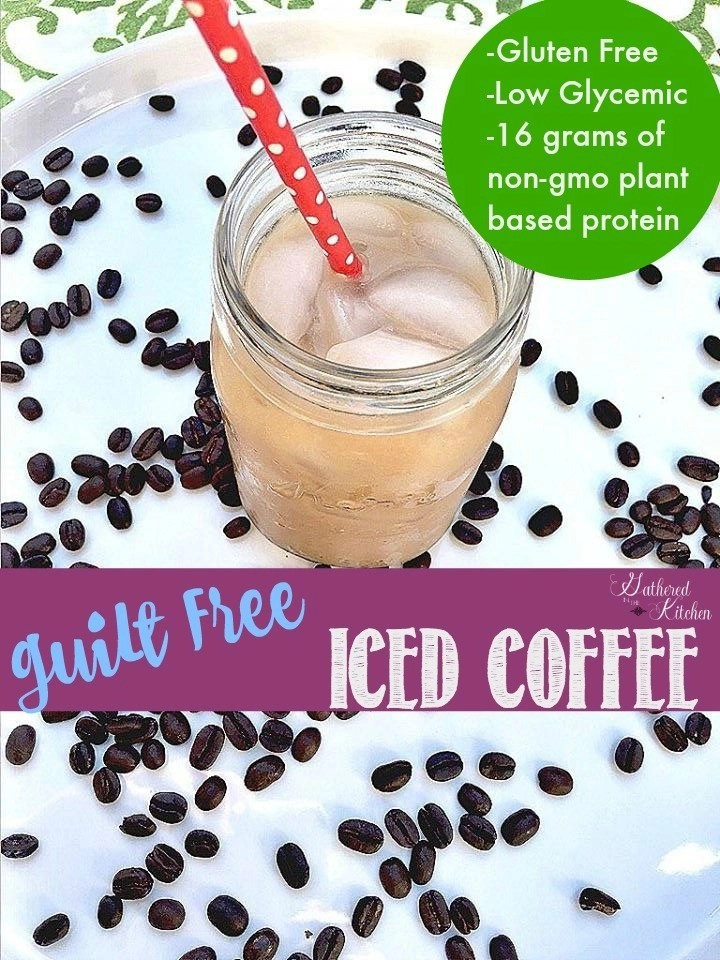 Guilt Free Iced Coffee - 16 grams of protein