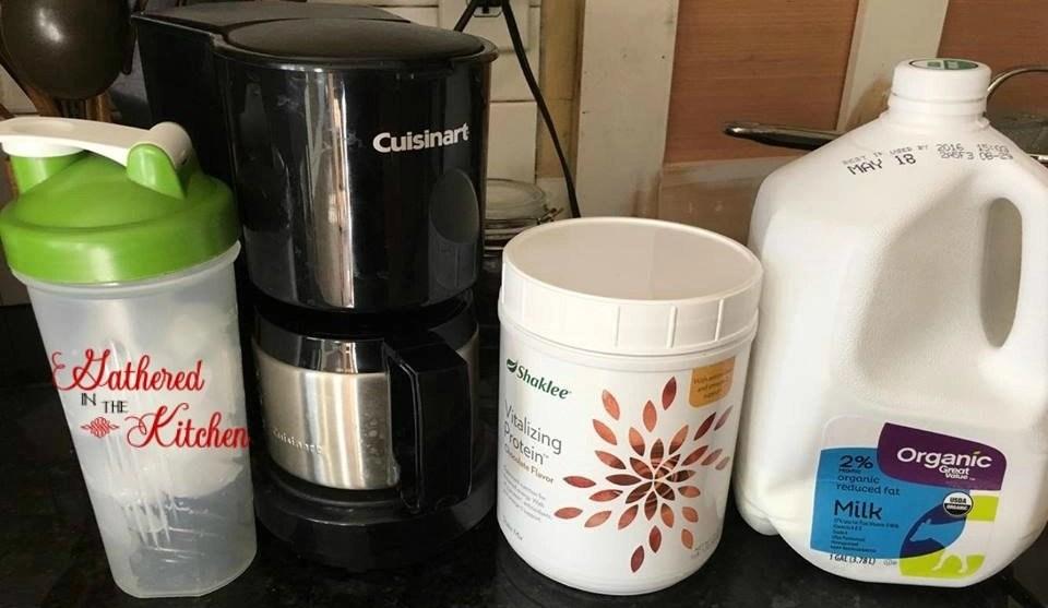 Shaklee Iced Coffee Ingredients