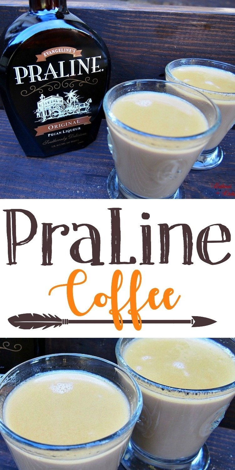 Praline Liqueur Coffee - OMG so good!