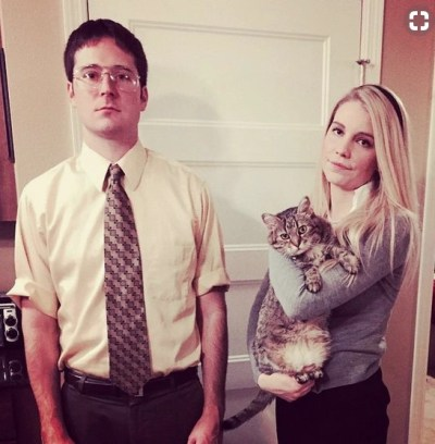 couples halloween costumes dwight angela from the office