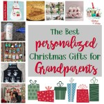 Personalized Holiday Gifts for Grandparents