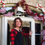 Angela's Christmas Front Porch