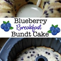 Blueberry Breakfast Bundt Cake