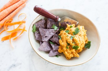 Moroccan-Spiced Carrot Hummus