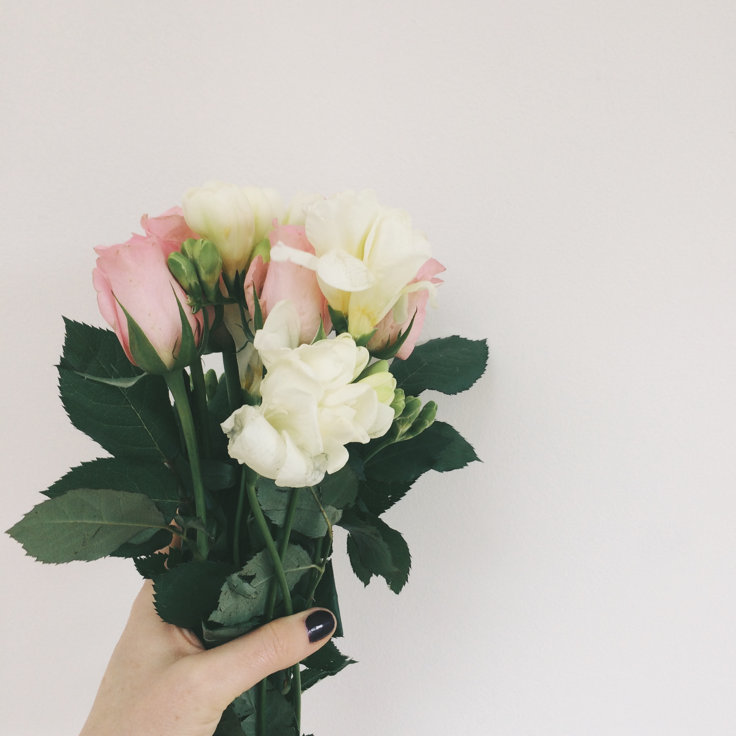 12 instagram photos from one bunch of flowers