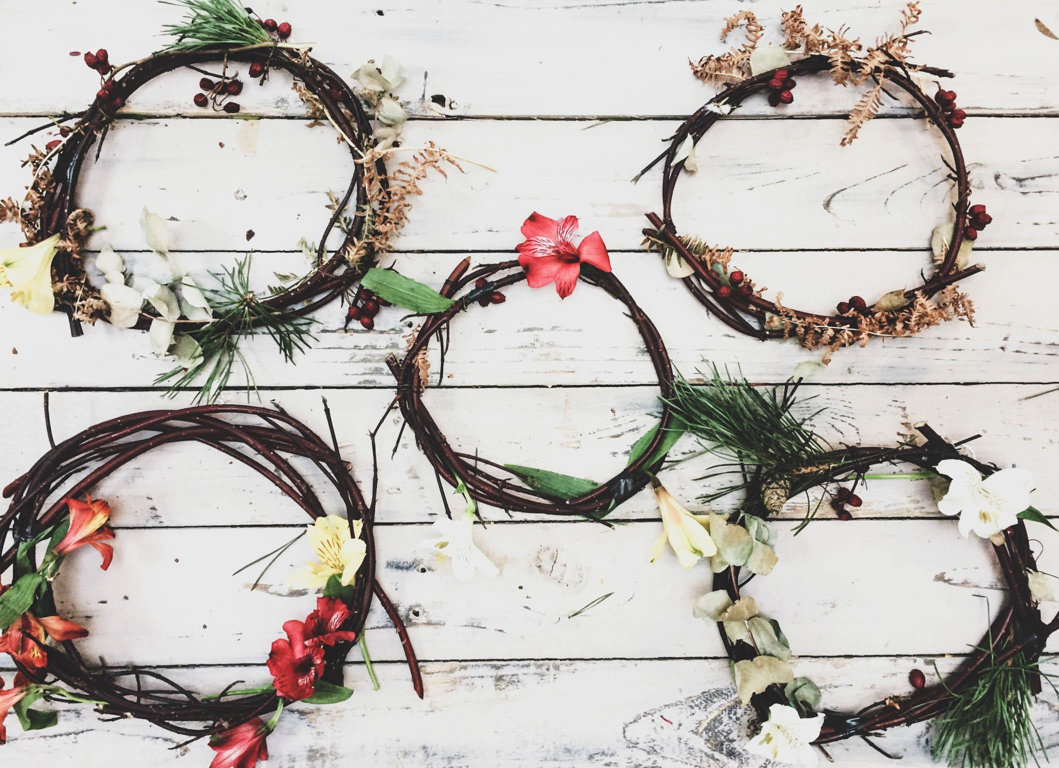 Autumn Foraged Wreath