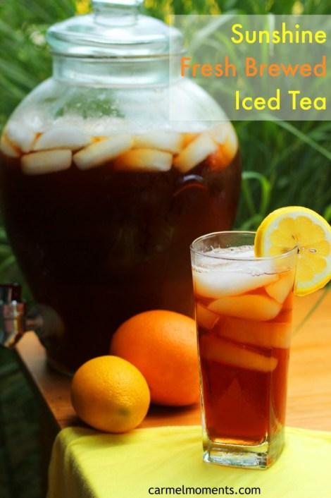 Sunshine Iced Tea | Carmel Moments