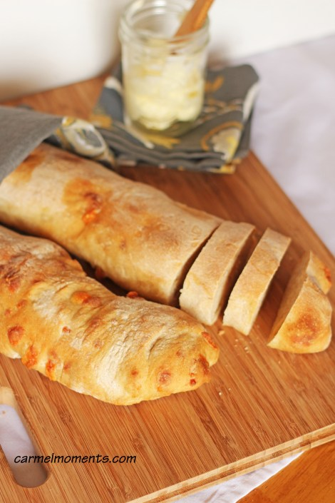 Asiago ciabatta | Carmel Moments