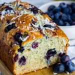 Blueberry Coconut Banana Bread {with Video}