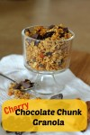 Cherry Chocolate Granola | carmelmoments.com