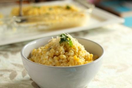 Baked corn | carmelmoments.com