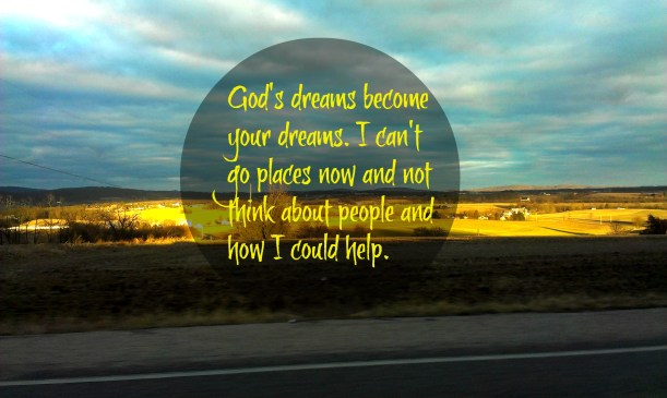 Gods dreams become your dreams