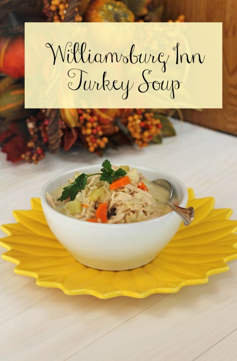 Williamsburg Inn Turkey Soup | gatherforbread.com