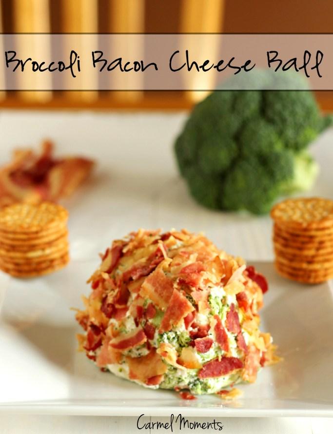 Broccoli Bacon Cheese Ball