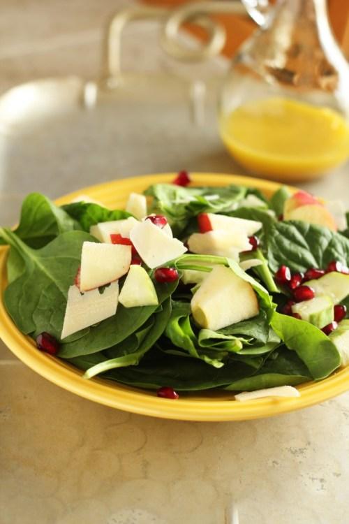 Poppin Pomegranate Salad