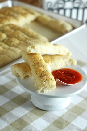 Easy Bread STicks | Carmel Moments