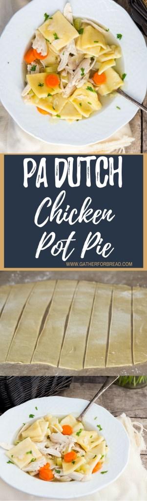 Pennsylvania Dutch Chicken Pot Pie