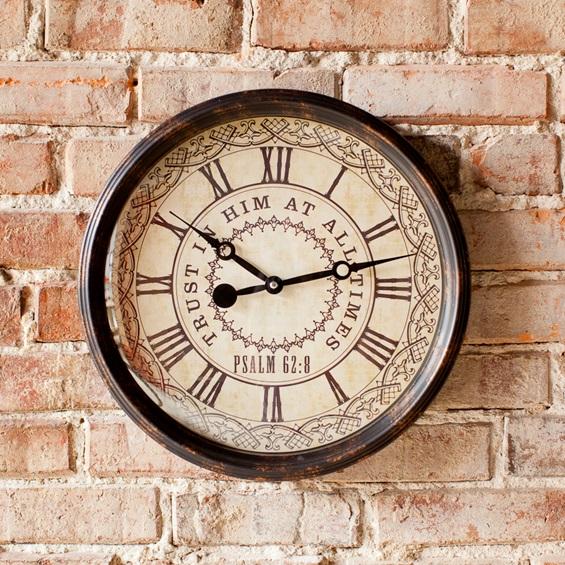 Redeemed clock