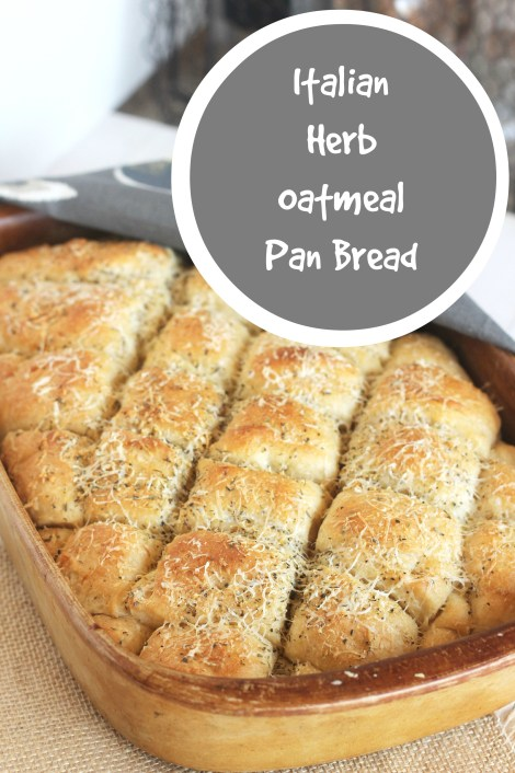 Italian Herb Oatmeal Pan Bread