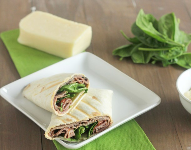Roast Beef Wrap | Carmel Moments