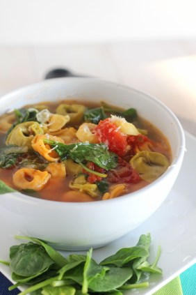 Spinach Tortellini Soup | Carmel Moments
