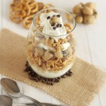 Cookie Dough Pretzel Parfaits
