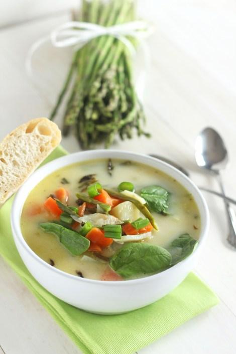Spring Asparagus Soup   Carmel Moments