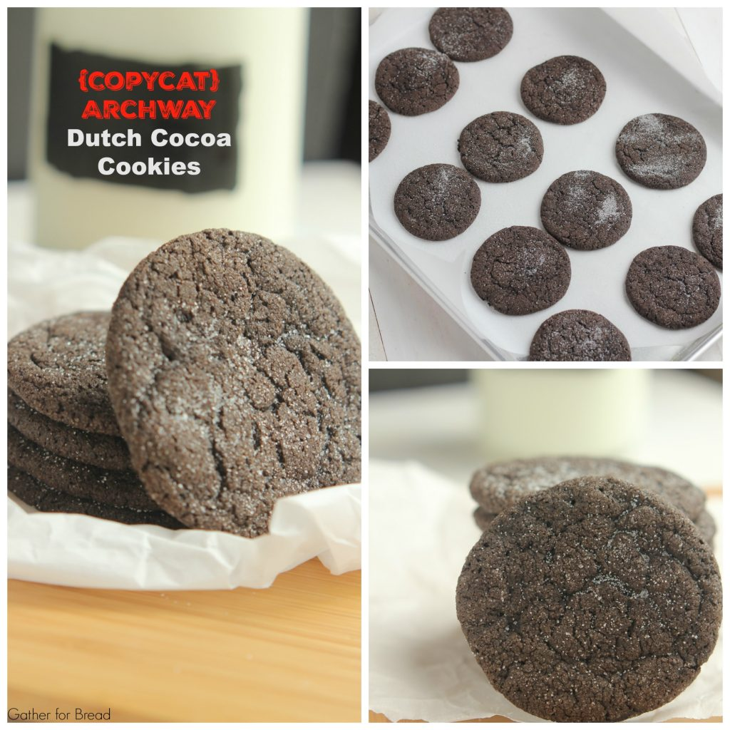 Copycat Archway Dutch Cocoa Cookies -  Recipes for chocolate cookies that taste just like the Archway ones. Chewy, soft, rolled in sugar. Perfection!