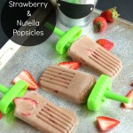 Strawberry Nutella Popsicles