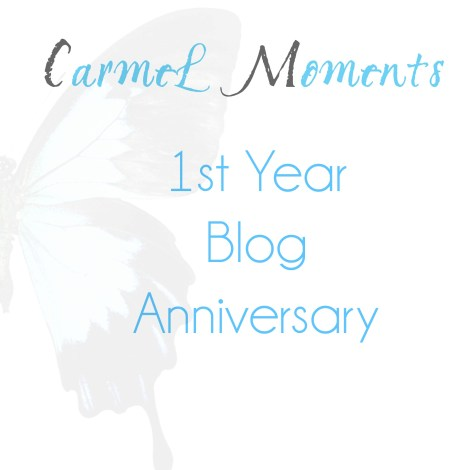 1st Year Blog Anniversary