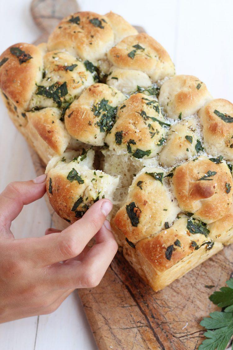 Pull Apart Garlic Bread Homemade Garlic Bread Perfect