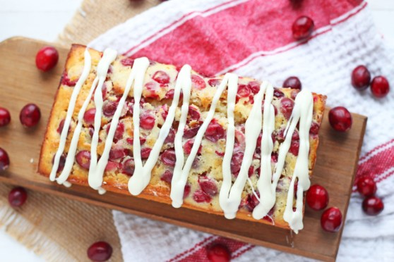 Cranberry White Chocolate Loaf Bread